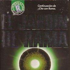 Libros de segunda mano: NOVELA-EL JARDIN DE RAMA ARTHUR C CLARKE-BRUGUERA 1993-CIENCIA FICCION. Lote 48677084