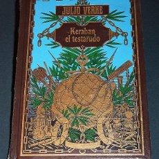 Libros de segunda mano: LIBRO - NOVELA JULIO VERNE: KERABAN EL TESTARUDO (RBA 2002). Lote 48837285