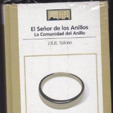 Libros de segunda mano: EL SEÑOR DE LOS ANILLOS - LA COMUNIDAD DEL ANILLO - JRR TOLKIEN - LIBRO + DVD. Lote 48906156