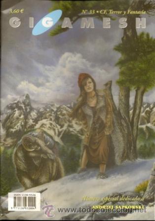 GIGAMESH REVISTA, Nº 33. 2002 (Libros de Segunda Mano (posteriores a 1936) - Literatura - Narrativa - Ciencia Ficción y Fantasía)