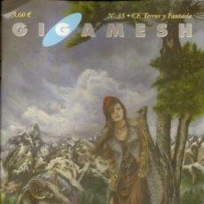 Libros de segunda mano: GIGAMESH REVISTA, Nº 33. 2002. Lote 49039962