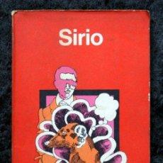 Libros de segunda mano: SIRIO - STAPLEDON , OLAF .- MINOTAURO - 1973. Lote 49076019