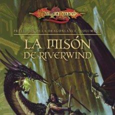 Libros de segunda mano: LA MISIÓN DE RIVERWIND POR PAUL B. THOMPSON Y TONYA C. COOK TIMUN MAS DRAGONLANCE NUEVO. Lote 49101801