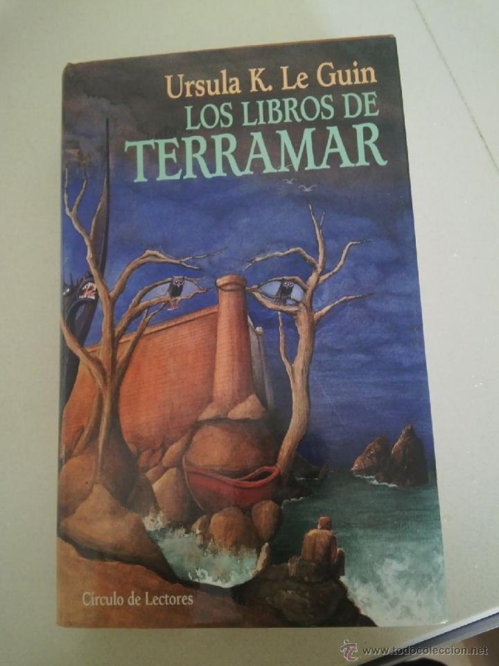 LIBROS TERRAMAR URSULA K LEGUIN LE GUIN FANTASIA CIRCULO LECTORES (Libros de Segunda Mano (posteriores a 1936) - Literatura - Narrativa - Ciencia Ficción y Fantasía)