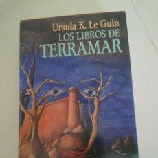 Libros de segunda mano: LIBROS TERRAMAR URSULA K LEGUIN LE GUIN FANTASIA CIRCULO LECTORES. Lote 49266445
