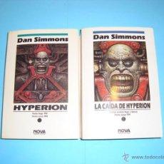Libros de segunda mano: HYPERION Y LA CAÍDA DE HIPERYON. DAN SIMMONS. Lote 49592384