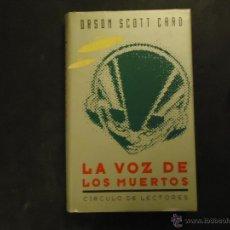 Libros de segunda mano: LA VOZ DE LOS MUERTOS. Lote 49998455