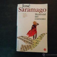 Libros de segunda mano: MEMORIAL DEL CONVENTO. Lote 50042282