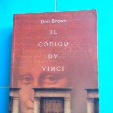Libros de segunda mano: LIBRO. EL CÓDIGO DA VINCI, DE DAN BROWN. EDICIONES URANO,S-A-2005.. Lote 50142800
