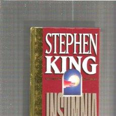 Libros de segunda mano: STEPHEN KING INSOMNIA. Lote 50292116
