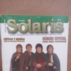 Livres d'occasion: SOLARIS 12 - REVISTA LA FACTORÍA (EL SEÑOR DE LOS ANILLOS). Lote 144058432