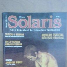 Libros de segunda mano: SOLARIS 15 - REVISTA LA FACTORÍA. Lote 144058501