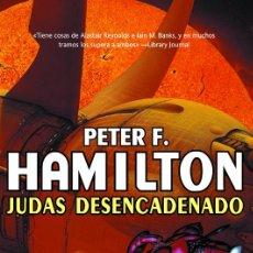 Libros de segunda mano: JUDAS DESENCADENADO (P. HAMILTON - SOLARIS FICCIÓN 125) - LA FACTORÍA DE IDEAS. Lote 58658087