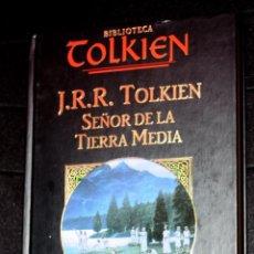 Libros de segunda mano: BIBLIOTECA TOLKIEN : SEÑOR DE LA TIERRA MEDIA (PLANETA 2002). Lote 50577732