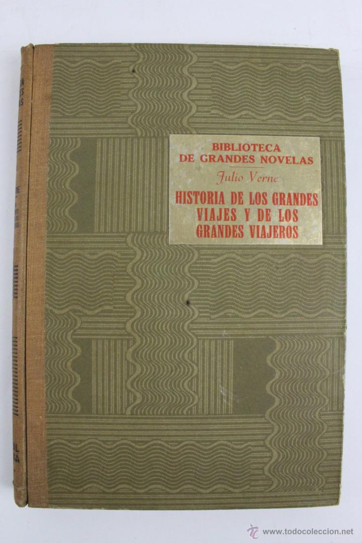 Libros de segunda mano: L-1193. JULIO VERNE. BIBLIOTECA DE GRANDES NOVELAS. 9 LIBROS. RAMON SOPENA. 1939 - 1941. - Foto 3 - 50603847