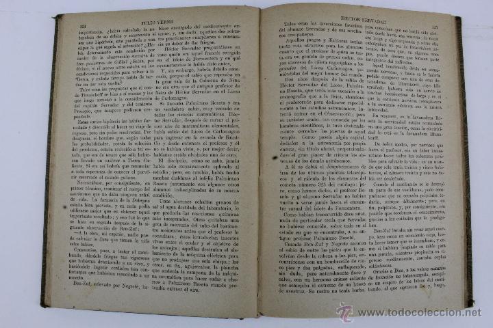 Libros de segunda mano: L-1193. JULIO VERNE. BIBLIOTECA DE GRANDES NOVELAS. 9 LIBROS. RAMON SOPENA. 1939 - 1941. - Foto 9 - 50603847
