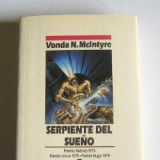 Libros de segunda mano: SERPIENTE DEL SUEÑO - VONDA N. MCINTYRE. Lote 50865803