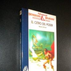 Libros de segunda mano: DRAGONES Y MAZMORRAS EL CENTRO DEL PODER NUM 5 / TIMUN MAS. Lote 127885932
