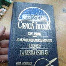 Libros de segunda mano: LIBRO OBRAS ESTELARES DE LA CIENCIA FICCION ED. EDISAN L-9208. Lote 51225991