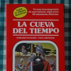 Libros de segunda mano: LA CUEVA DEL TIEMPO, POR EDWARD PACKARD Y PAUL GRANGER, ELIGE TU PROPIA AVENTURA Nº 1, ED TIMUN MAS. Lote 51256102