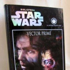 Libros de segunda mano: VECTOR PRIME - R.A. SALVATORE - PLANETA DE AGOSTINI - BIBLIOTECA STAR WARS 2. Lote 82697668