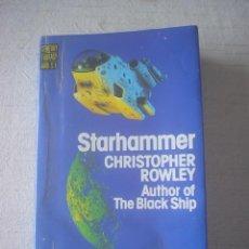 Libros de segunda mano: STARHAMMER - CHRISTOPHER ROWLEY - INGLÉS. Lote 51581460
