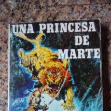 Libros de segunda mano: JOHN CARTER: UNA PRINCESA EN MARTE (PORTADA DE FRAZETTA) - EDGAR RICE BURROUGHS (LAERTES 1981). Lote 51887253