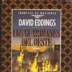 Libros de segunda mano: CRÓNICAS DE MALLOREA / 5 VOLÚMENES / OBRA COMPLETA / DAVID EDDINS / TIMUN MAS / 1991 /. Lote 94607094
