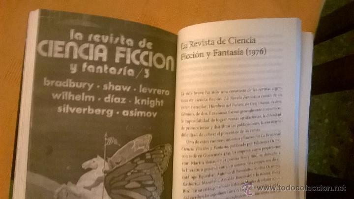Libros de segunda mano: REVISTAS ARGENTINAS DE CIENCIA FICCION, por CARLOS ABRAHAM - EDICION DE AUTOR - RARO - Foto 3 - 244781435