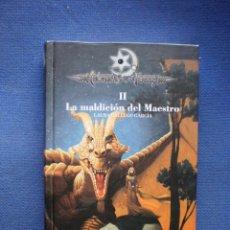 Libros de segunda mano: LA MALDICION DEL MAESTRO. CRONICA DE LA TORRE II. Lote 52756883