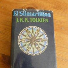 Livres d'occasion: EL SILMARILLION. J.R. R. TOLKIEN. MINOTAURO. 1984 490 PP. Lote 52996214