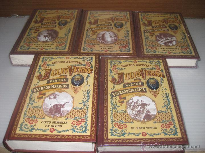 Libros de segunda mano: 5 JULIO VERNE,VIAJES EXTRAORDINARIOS - Foto 2 - 53424653