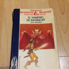 Libros de segunda mano: EL VAMPIRO DE RAVENLOFT - ADVANCED DUNGEONS AND DRAGONS Nº6 - TIMUN MAS - LIBROJUEGO. Lote 169461150