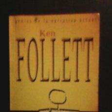 Libros de segunda mano: LA CLAVE ESTÁ EN REBECA DE KEN FOLLETT - 1997. Lote 54083779