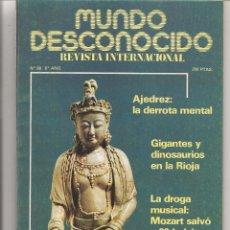 Libros de segunda mano: MUNDO DESCONOCIDO. Nº 68. MISTERIOS DE NUESTRO MUNDO. FEBRERO 1982. EDITA A.T.E. JUNIO 1976 (P/D37). Lote 206924132