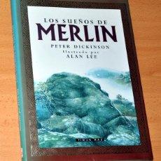 Libros de segunda mano: LOS SUEÑOS DE MERLÍN - DE PETER DICKINSON - EDITORIAL TIMUN MAS - AÑO 1992. Lote 54429251