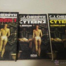Libros de segunda mano: NOVA CIENCIA FICCION CYTEEN CHERRYH. Lote 54568211
