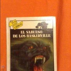 Libros de segunda mano: EL SABUESO DE LOS BASKERVILLE SIR ARTHUR CONAN DOYLE ANAYA. Lote 54687608
