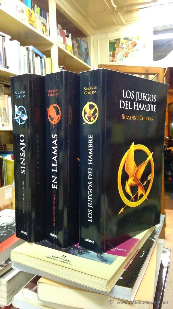 Los Juegos Del Hambre En Llamas Sinsajo Tril Comprar Libros De