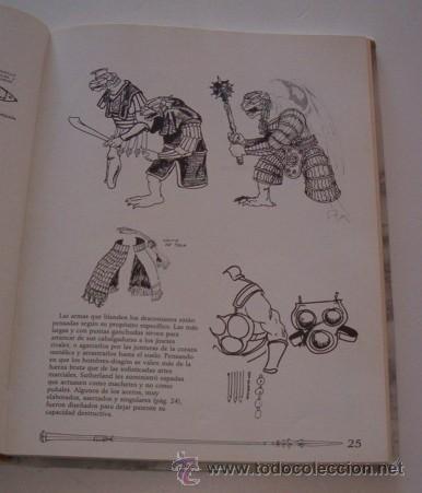 Libros de segunda mano: MARY KIRCHOFF (ED.). El Gran Libro de la Dragon Lance. RM73729. - Foto 3 - 55023698