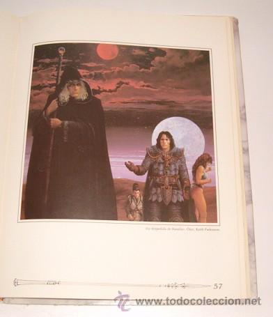 Libros de segunda mano: MARY KIRCHOFF (ED.). El Gran Libro de la Dragon Lance. RM73729. - Foto 4 - 55023698