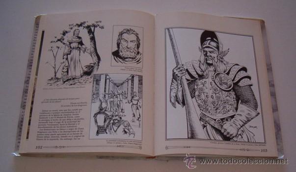 Libros de segunda mano: MARY KIRCHOFF (ED.). El Gran Libro de la Dragon Lance. RM73729. - Foto 5 - 55023698