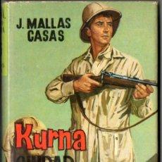 Libros de segunda mano: J. MALLAS CASAS : KURNA, CIUDAD SELLADA (MATEU CADETE, 1962). Lote 55099908