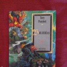 Libros de segunda mano: BRUJERIAS - TERRY PRATCHETT - COLECCION GRAN FANTASY SERIE MUNDODISCO 6 MARTINEZ ROCA. Lote 55166991