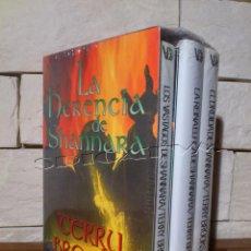 Libros de segunda mano: CRONICAS DE SHANNARA - CRONICAS 4 + 5 + 6 - TERRY BROOKS - COMPLETA - 3 LIBROS - PRECINTADOS NUEVOS. Lote 152550861