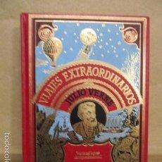Libros de segunda mano: VIAJES EXTRAORDINARIOS - JULIO VERNE VEINTE MIL LEGUAS DE VIAJE SUBMARINO - EXCELENTE ESTADO. Lote 55378909