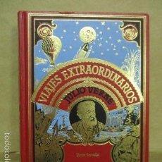Libros de segunda mano: HECTOR SERVADAC. JULIO VERNE. COLECCIÓN VIAJES EXTRAORDINARIOS. LO MEJOR DE JULIO VERNE- 1982 . Lote 55378944