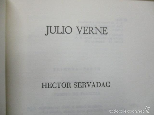 Libros de segunda mano: Hector Servadac. Julio Verne. Colección Viajes Extraordinarios. Lo mejor de Julio Verne- 1982 - Foto 4 - 55378944