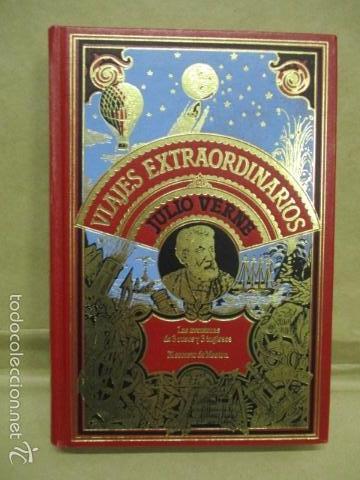 AVENTURAS DE TRES RUSOS Y TRES INGLESES - VIAJES EXTRAORDINARIOS - JULIO VERNE - EXCELENTE ESTADO (Libros de Segunda Mano (posteriores a 1936) - Literatura - Narrativa - Ciencia Ficción y Fantasía)
