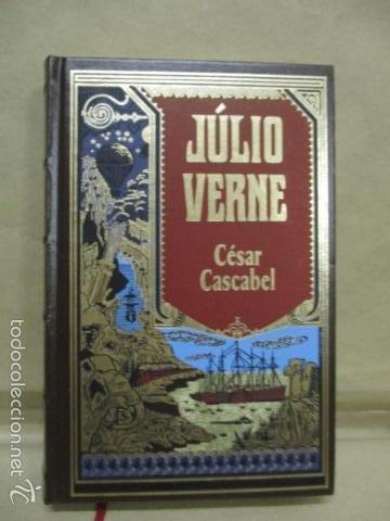 NOVELA JULIO VERNE: CÉSAR CASCABEL (RBA 2003 EN PORTUGUES) EXCELENTE ESTADO (Libros de Segunda Mano (posteriores a 1936) - Literatura - Narrativa - Ciencia Ficción y Fantasía)